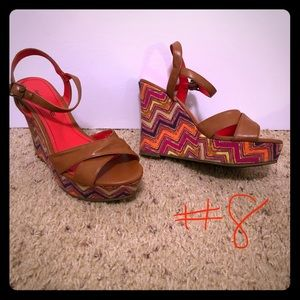 American Eagle Colorful Wedges